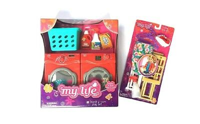 My Life As Laundry Room and Ironing Play Set