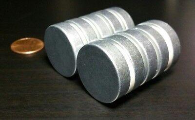 10 Large Neodymium Rare Earth Magnet Disc 1 X 14 Super Strong High Heat Grade