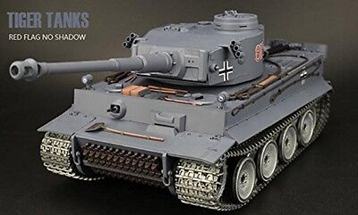 1:16 German Tiger I RC Tank Ultimate Metal Version 2.4GHz Smoke & Sound New