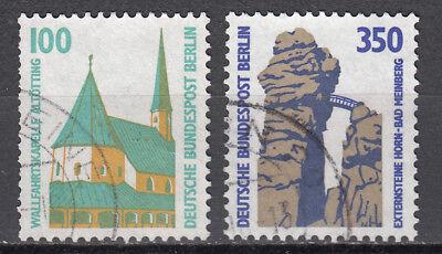 Berlin 1989 Mi. Nr. 834-835 Gestempelt LUXUS!!!