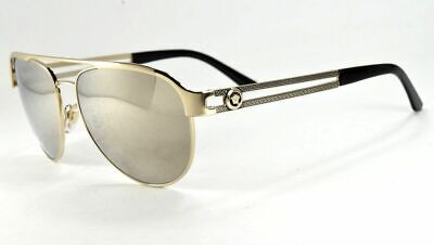 Versace Sunglasses 2165 1252/5A Gold& Black/Gold Mirror Lens