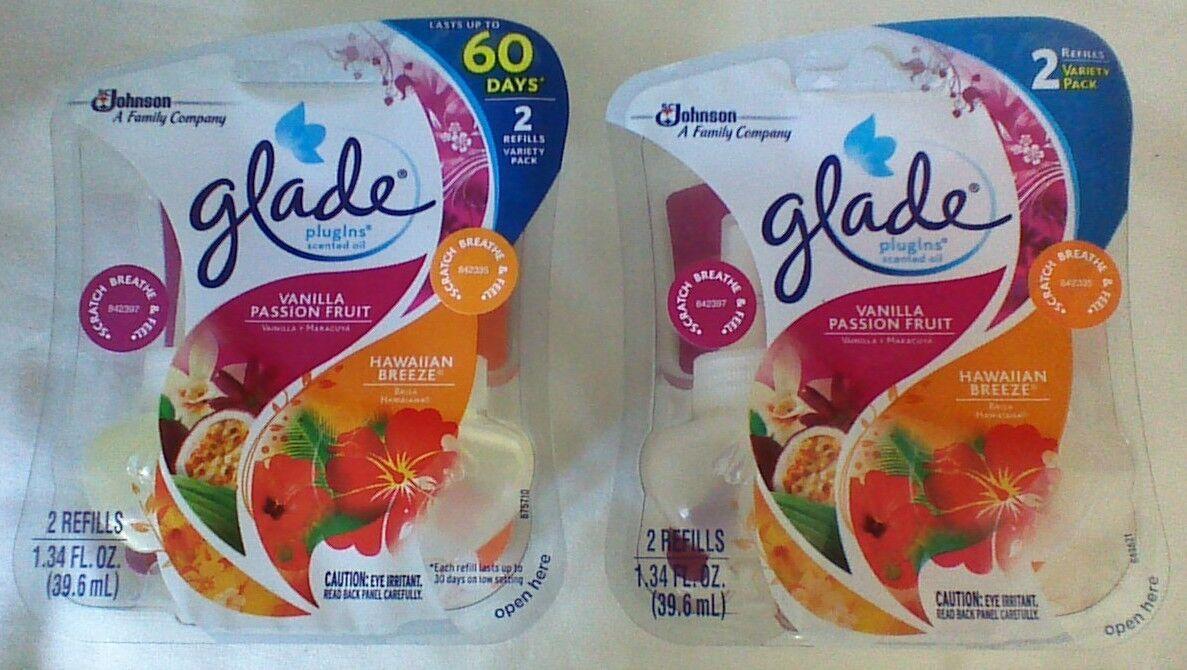 Glade PlugIns Scented Oil Refill, Hawaiian Breeze & Vanilla