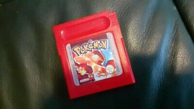 Pokemon Red - Genuine, official, Nintendo Game Boy Game - Cart Only