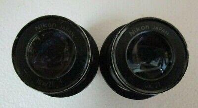 Nikon  O.d. 30mm 10x21 Microscope Eyepiece 1 Pair