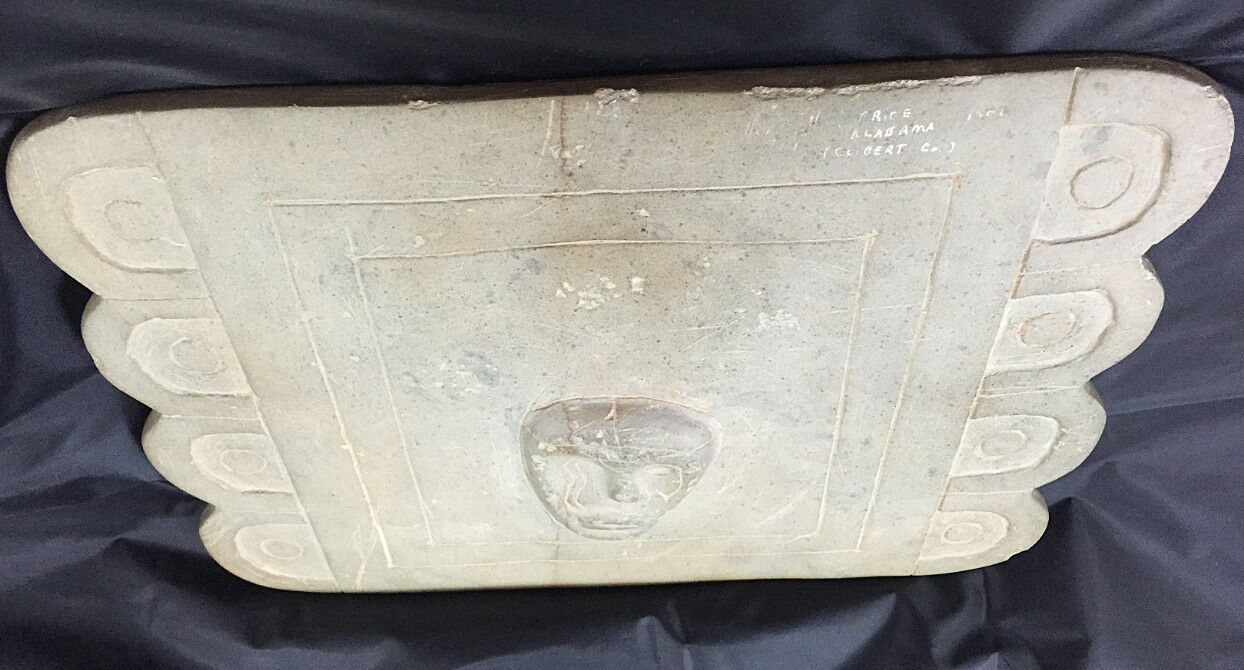 Extremely Rare Incised Shaman Ceremonial Tablet Ex B.W. Stephens-COA & Appraised