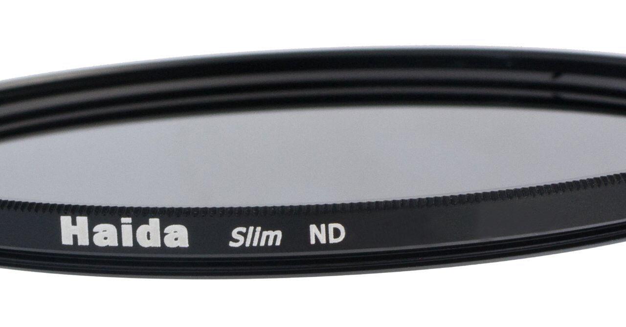 Haida Optical Slim ND Graufilter ND 4x, ND 8x, ND 64x, ND1000x