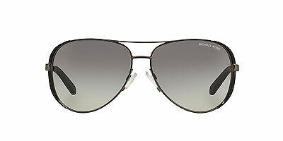 Michael Kors Women's Gradient Chelsea MK5004-101311-59 Black Aviator Sunglasses