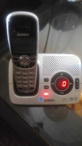 Uniden 6.0 dect 3 phone cordless set used but still works great