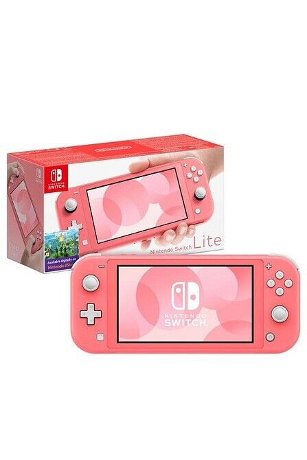 Nintendo+Switch+Lite+-+Coral+-+32GB+-+HDH-001