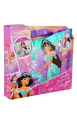 Disney  Princess  Jasmine Styling Fabric Bag Craft Design with Fabric & Gems