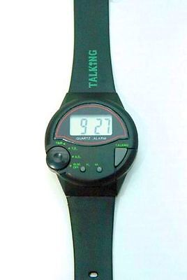 Pelham Talking Watch for the Blind and Partially Sighted, Brand New (RNIB) Alarm
