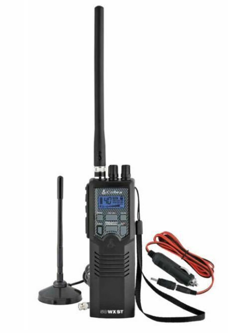 Cobra HHRT50 Emergency Handheld CB Radio with Mobile Antenna Road Trip