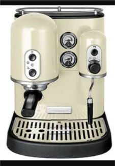 Rrp $2400 kitchenaid artisan coffee machine + coffee grinder