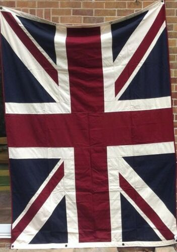 United Kingdom Union Jack Flag FULLY SEWN 240cm x 180cm With 8 Eyelets
