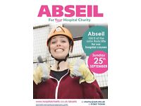 JOIN US FOR AN ABSEIL - 25TH SEPTEMBER 2016