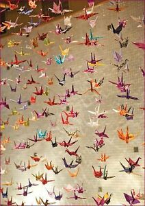 New Hand folded Origami Paper Cranes London Ontario image 3