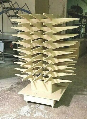 CABINET DOOR PAINTING SYSTEM DRYING RACKS