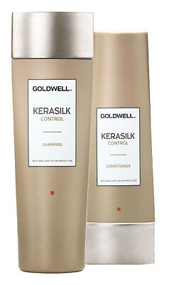 Goldwell Kerasilk Control Shampoo (250ml) + Conditioner (200ml)