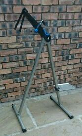 TACX cycle stand. Bicycle work stand