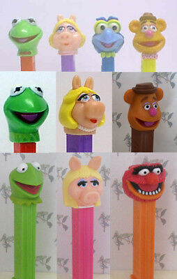 PEZ - The Muppets Series -  Choose Character from Pull Down Menu