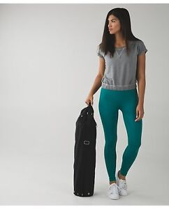Lululemon Zone In Tight-4-Forage Teal-VGUC