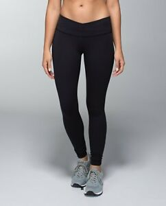 Lululemon Black Full-on Luon Legging Size 4