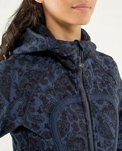 Lululemon Paisley Inkwell Scuba Jacket- like new