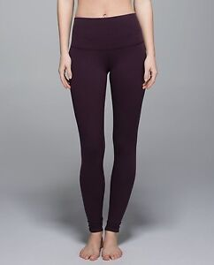 brand new black cherry lululemon leggings