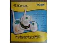 Tomy Walkabout premier digital baby monitor