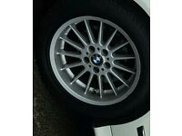 BMW Alloy with New Tyre