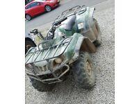 Yamaha grizzly 350cc farm quad atv road legal