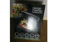 George Forman Grill Fat Reducing Grill - New and Unused