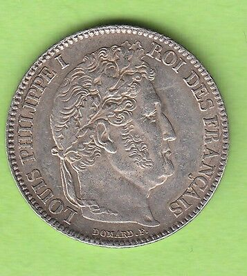 Frankreich 1 Franc 1846 B Rouen besser als vz hübsch nswleipzig
