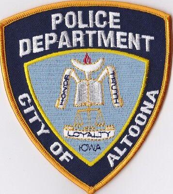 City of Altoona Police Dept. Police Patch Iowa IA