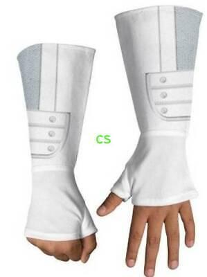 Boys G.I. Joe White Retaliation Storm Shadow Deluxe - Deluxe White Polyester Handschuhe