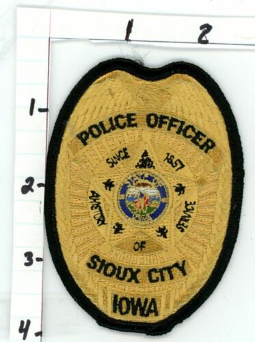 SIOUX CITY POLICE IOWA IA NICE NEW COLORFUL PATCH SHERIFF STYLE 2