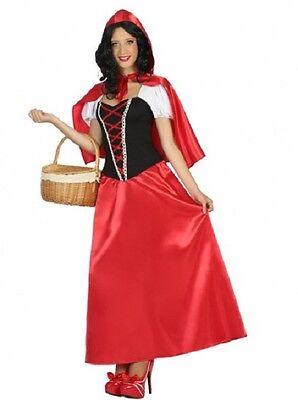 Déguisement Femme Petit CHAPERON Rouge M/L 40/42 Dessin - Chaperon Rouge Kostüm