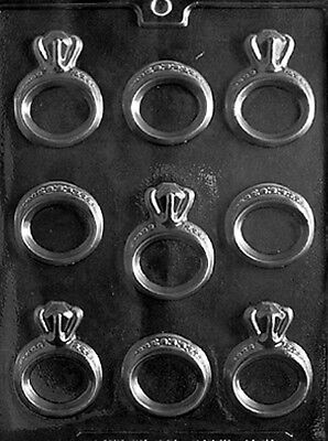 Chocolate Wedding Ring (Engagement / Wedding Ring Chocolate & Soap Mold -)