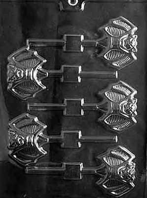 UGLY BAT LOLLIPOP CHCOLATE CANDY MOLD DIY HALLOWEEN PARTY FAVORS TRICK OR TREAT ](Diy Halloween Party Treats)