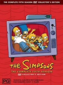 The-Simpsons-DVD-The-Complete-Fifth-Season-5-Series-4-Discs-13-Episodes-NEW