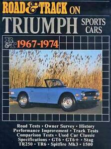 Road & Track on Triumph Sports Cars 1967 - 1974 by R.M. Clarke Blacktown Blacktown Area Preview
