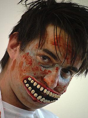 HALLOWEEN-Accessories-Creepy-Evil-Scary-Twisty IT Clown ZOMBIE HORROR - Creepy Zombie Clown Kostüm