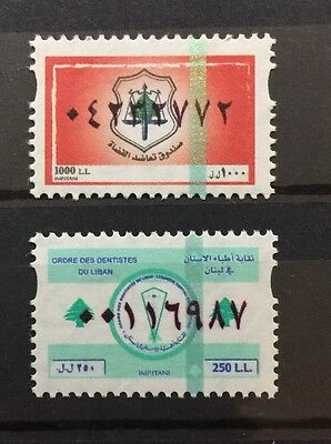 Lebanon Fiscal Tax Dentist Judges Revenues Issue 2003 2004  MNH