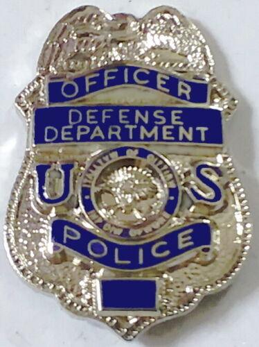 Department of Defense Police Officer Mini Badge DOD Pin Lapel Up Hat Cap TieTack
