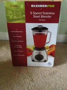 Blender Pro 5 Speed Stainless Steel Blender