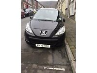 2010 Peugot, car only used for learner in last 3 years, so low mileage, quick sale needed