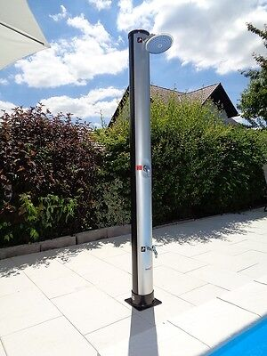 37L Solardusche DOLPHIN Pooldusche Außendusche Gartendusche Solar Outdoor Dusche