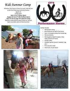 Kids summer camp Horse back riding