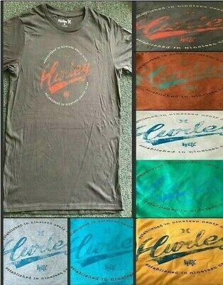 Hurley Men's Short Sleeve Shirts EST. 1999 Assorted colors S,M,L,XL & 2XL