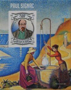 Paul Signac paintings s/s Burundi Sc.1320 MNH #BUR13120b IMPERF - <span itemprop='availableAtOrFrom'>Olsztyn, Polska</span> - Paul Signac paintings s/s Burundi Sc.1320 MNH #BUR13120b IMPERF - Olsztyn, Polska